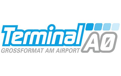 Terminal A0 – Großformat am Airport
